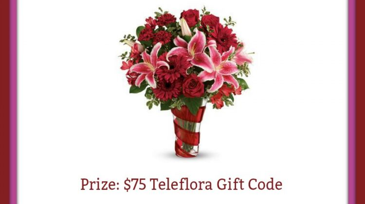 Spoil Yourself with Love Teleflora #Giveaway US/CAN ends 2/10