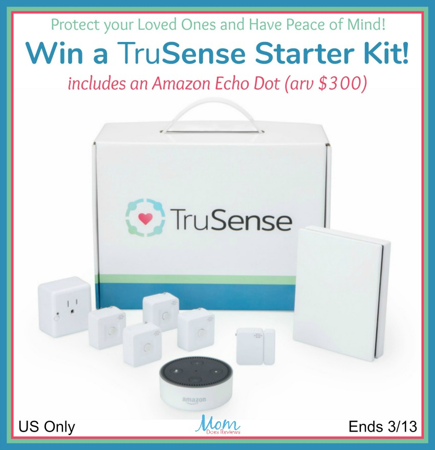 TruSense Giveaway button