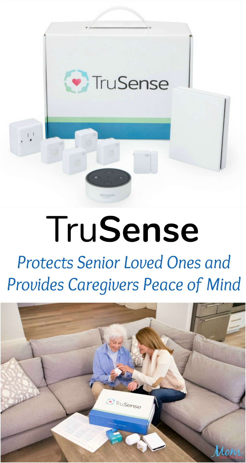 TruSense Protects Senior Loved Ones and Provides Caregivers Peace of Mind