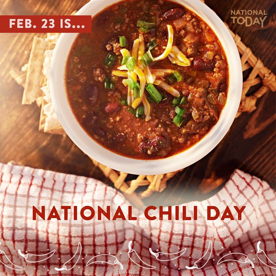 National Chili Day - National Today
