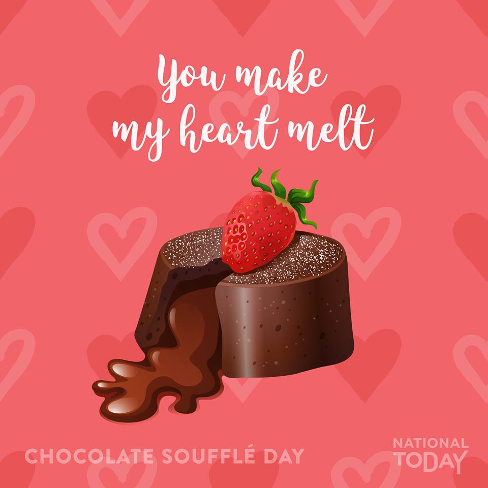 Chocolate Souffle Day