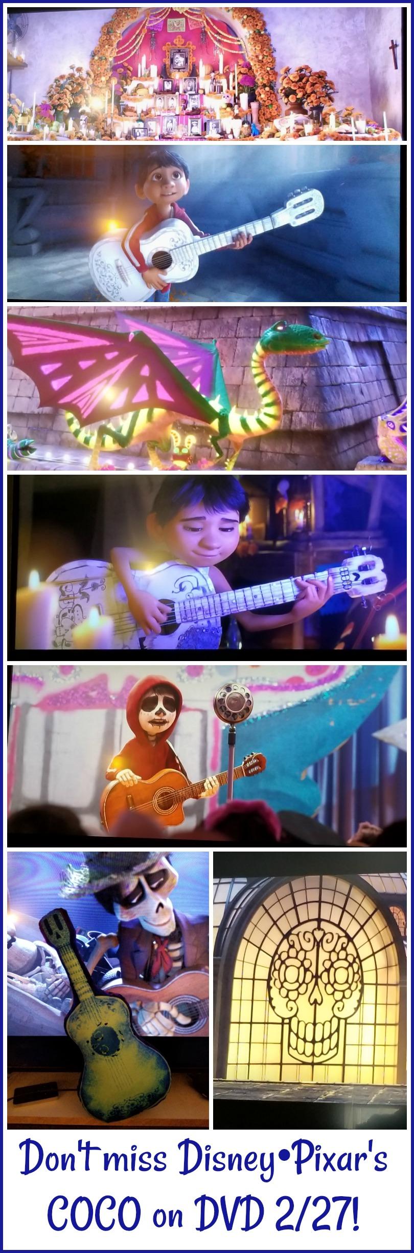 Disney•Pixar's COCO on DVD #PixarCoco