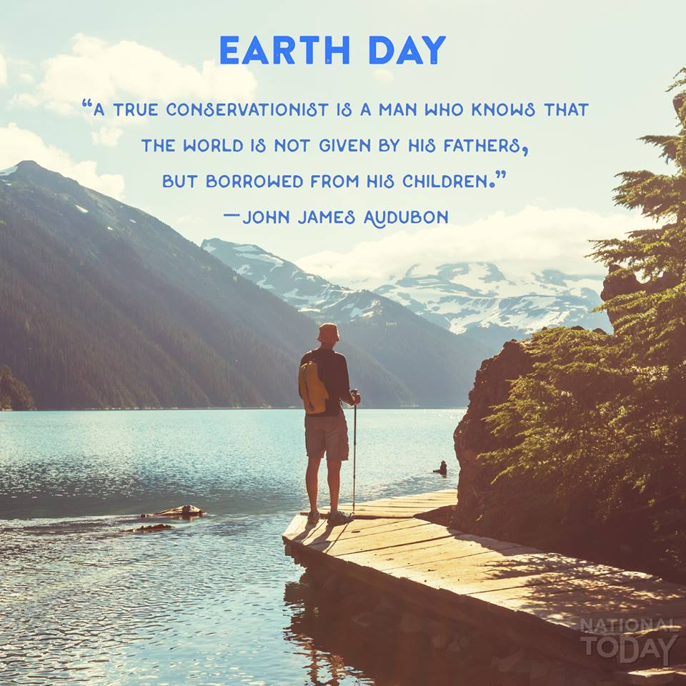Earth Day on National Today
