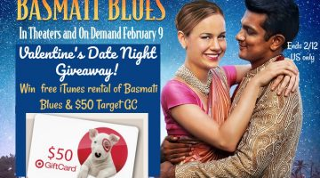 Valentine's Date Night Giveaway! #Win $50 Target GC and Basmati Blues #Sweet2018