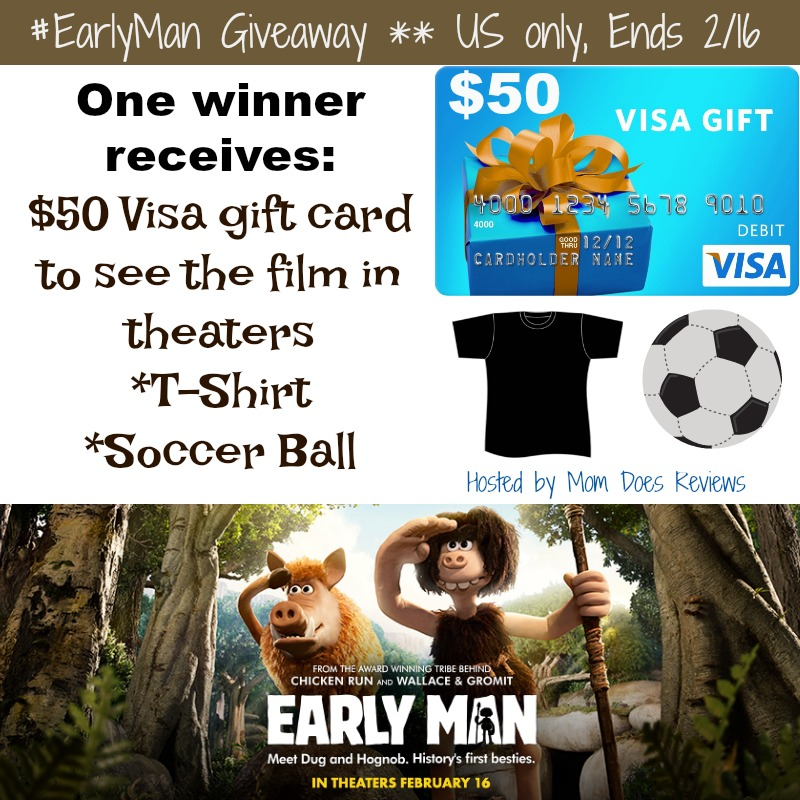 win early man prize pack