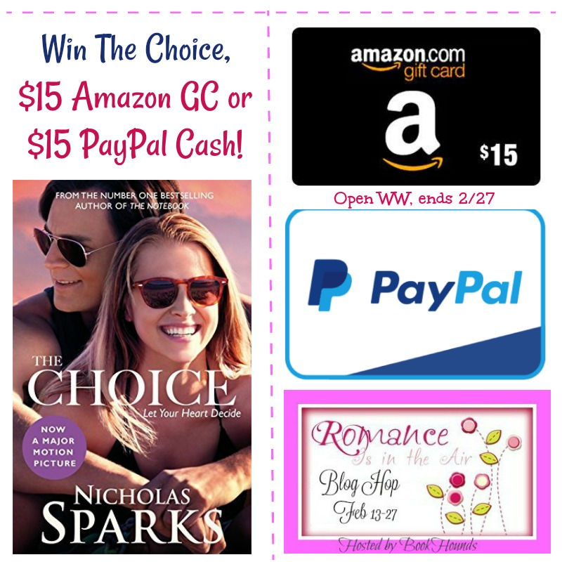 Win The Choice or Gift Card