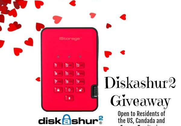 Win A diskashur2 PIN Authenticated USB 3.1 Portable Hard Drive