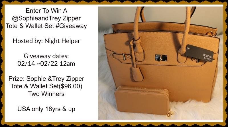 Win sophie and trey tote
