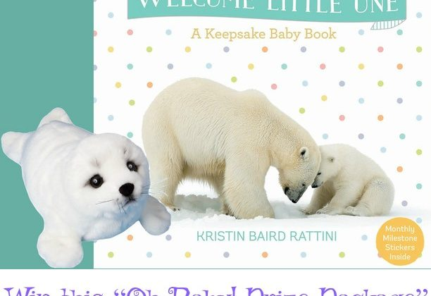 "Welcome Little One: A Keepsake Baby Book- Review and ""Oh Baby! Prize Package"" Giveaway"