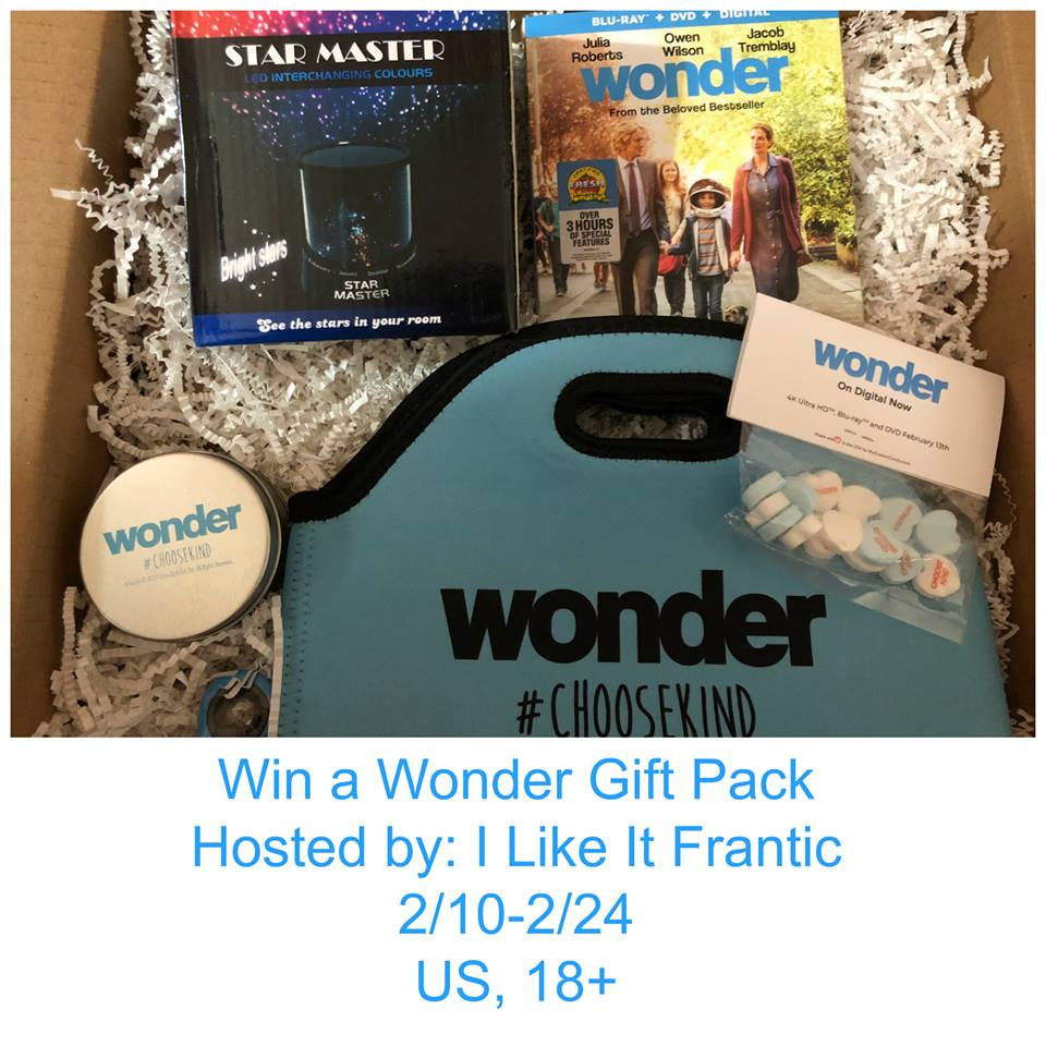 Win Wonder Movie Gift Pack