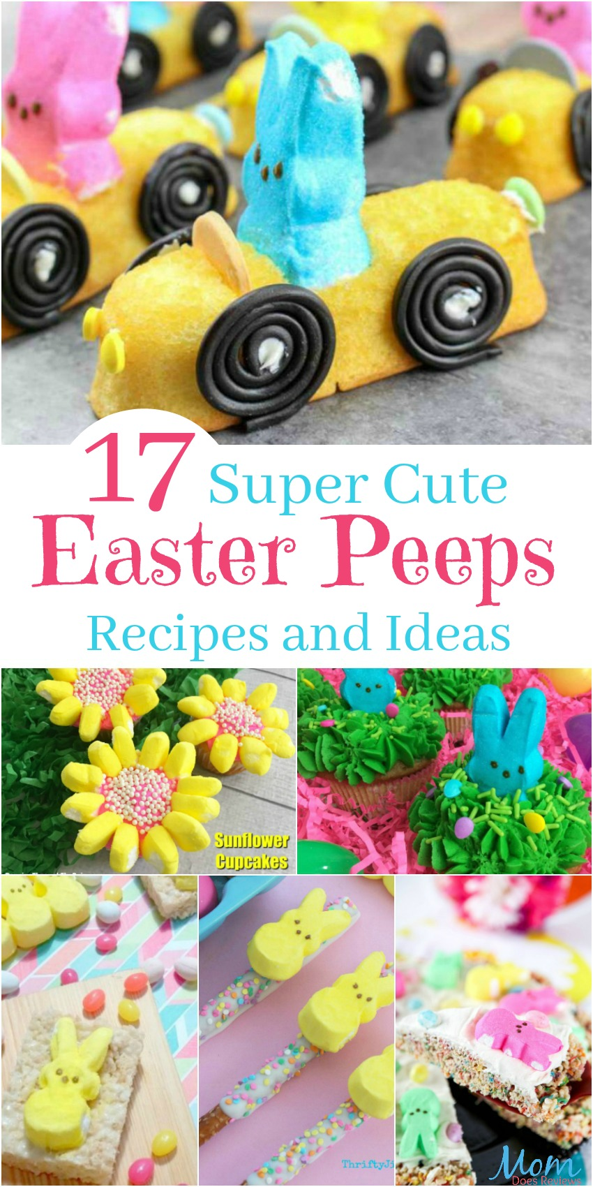 17 Super Cute Easter Peeps Recipes and Ideas banner