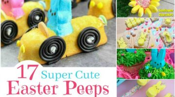 17 Super Cute Easter PEEPS Recipes and Ideas #EasteronMDR