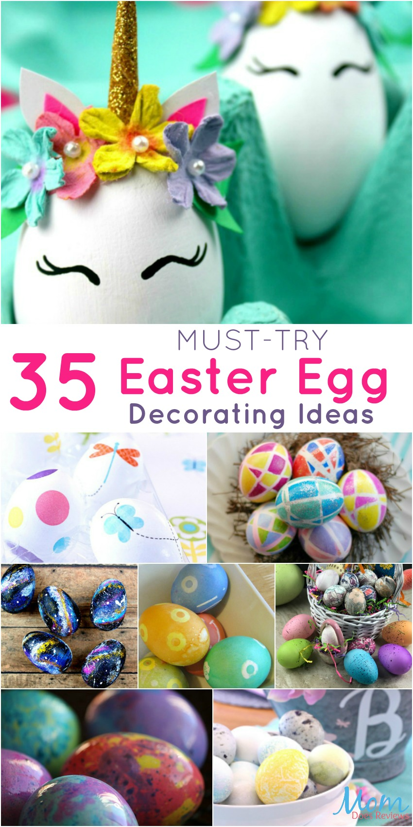 35 Must-Try Easter Egg Decorating Ideas banner