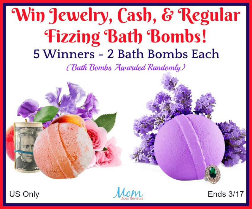 Bath Bombs Giveaway button
