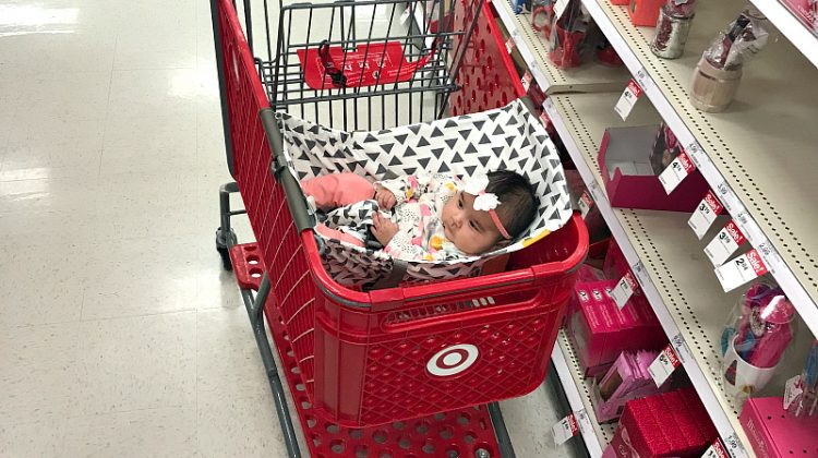 How To Go Grocery Shopping With An Infant Binxy Baby #EasteronMDR