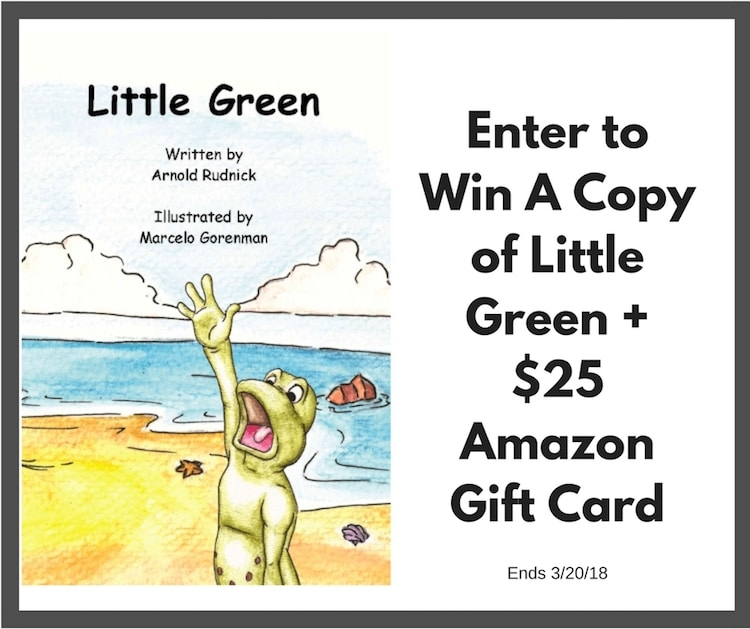 wIN $25 AMAZON GC and Little Green book