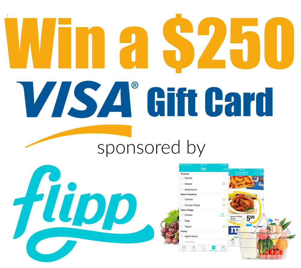 Win $250 Visa GC from Flipp
