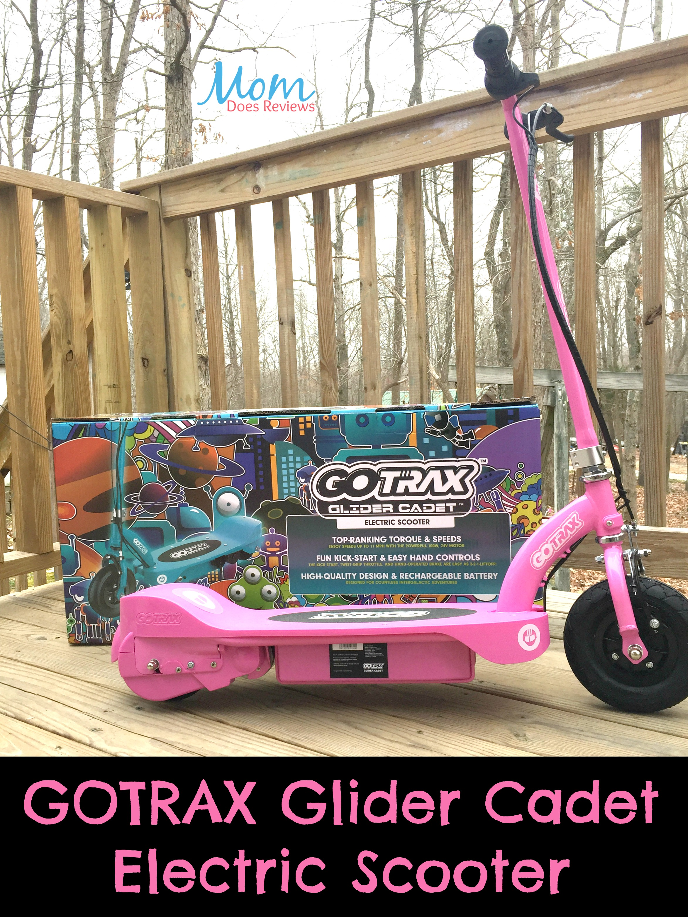 Zoom Along With Gotrax Glider Cadet Electric Scooter