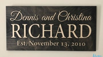 Personalize Your Home With Signs From Gifted Occasion #Review