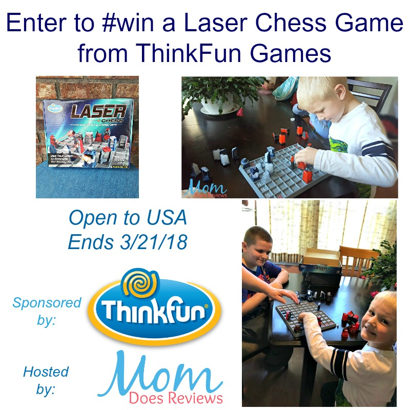 Laser Chess Game from ThinkFun Games