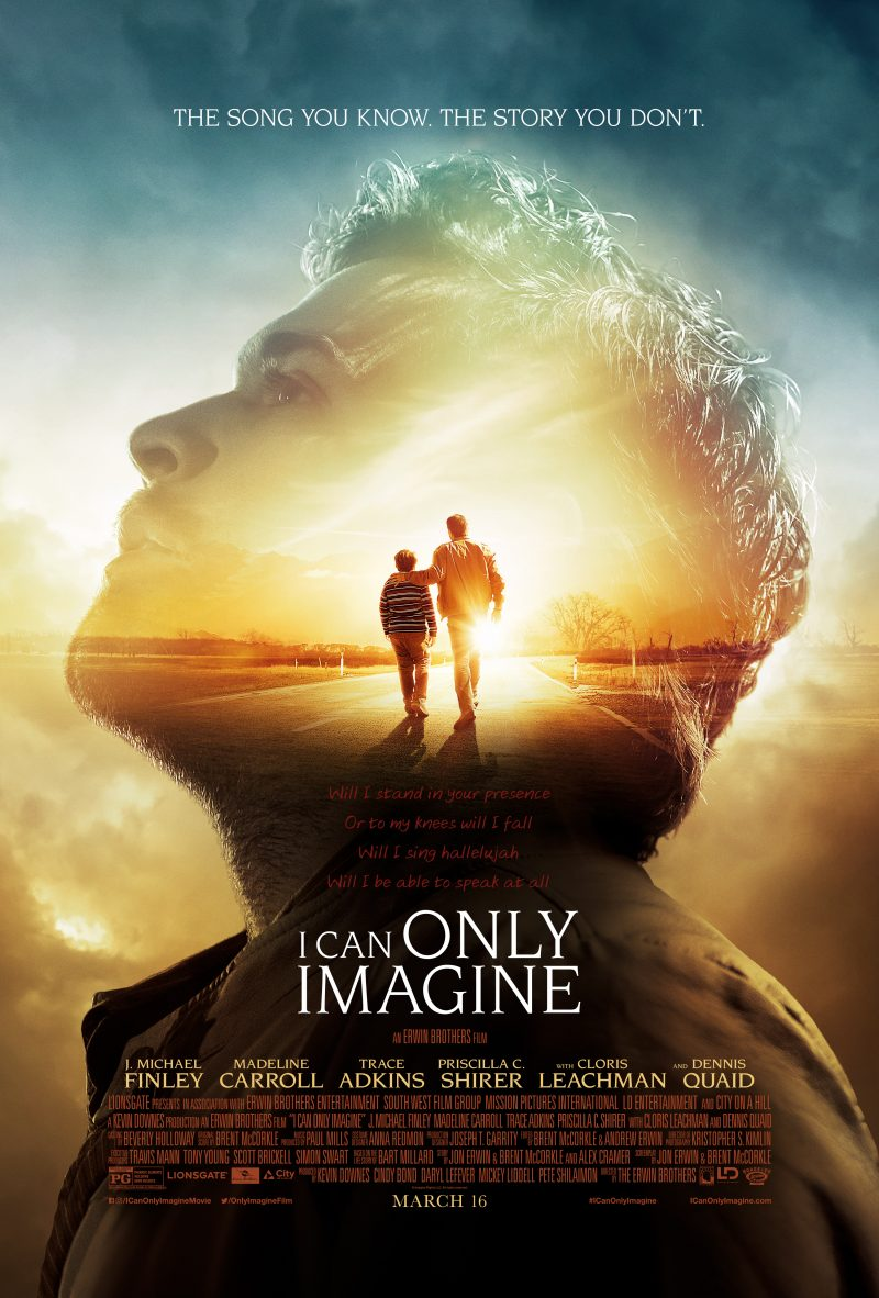 I Can Only Imagine Poster