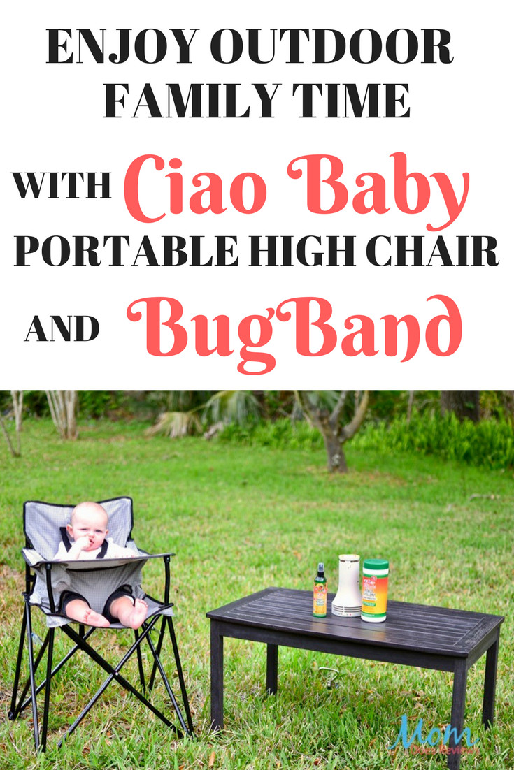 Ciao Baby Portable High Chair and BugBand