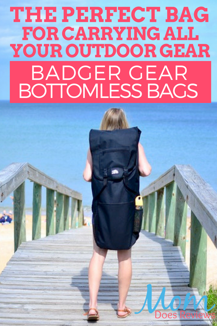 Badger Gear Bottomless Bags for Beach Gear