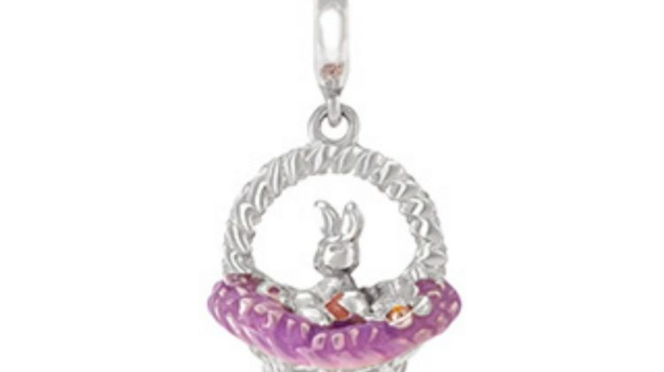 Start Her Story This Easter With Chamilia's Tisket A Tasket Charm #EasteronMDR