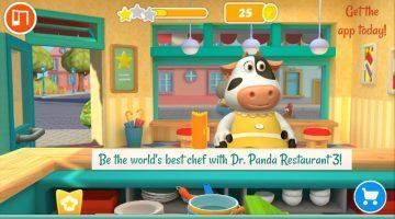 Be the World's Best Chef in The New App Dr. Panda Restaurant 3  #Kidsapp  #DrPanda