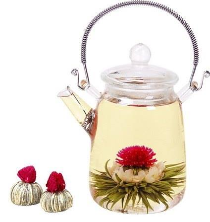 Let the secrets bloom: The history of flowering teas