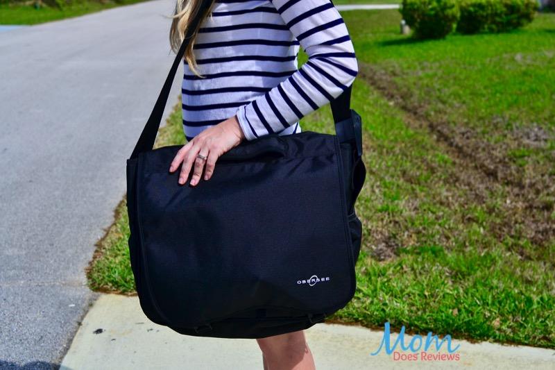 Messenger bag diaper bag