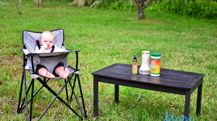 Ciao Baby Portable High Chair and BugBand Make Outdoor Fun a Breeze #EasterOnMDR