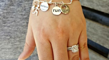 Encourage Mom this Mother's Day with a Beautiful Bracelet from Inspired Endurance #giftsformom18
