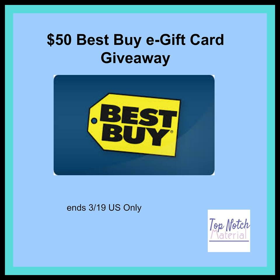 wIN $50 BestBuy GC