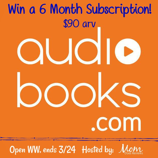 Win Six Month Subscription to Audiobooks.com