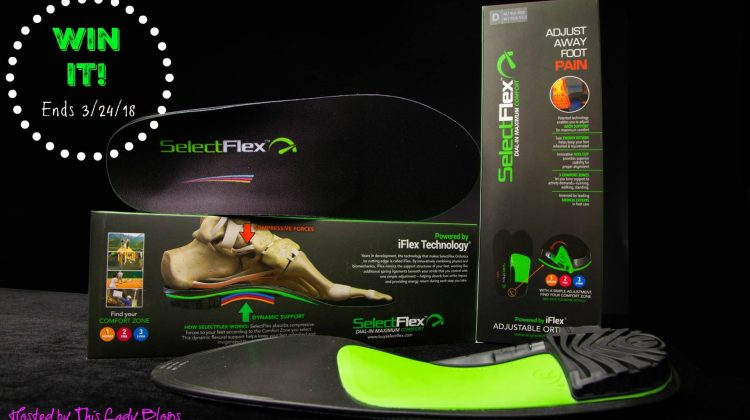 2 Winners -SelectFlex Orthotic Inserts US 3/24
