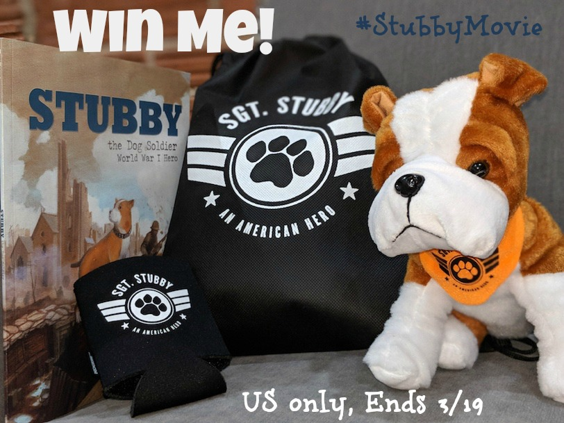 Win Sgt. Stubby Prize Pack