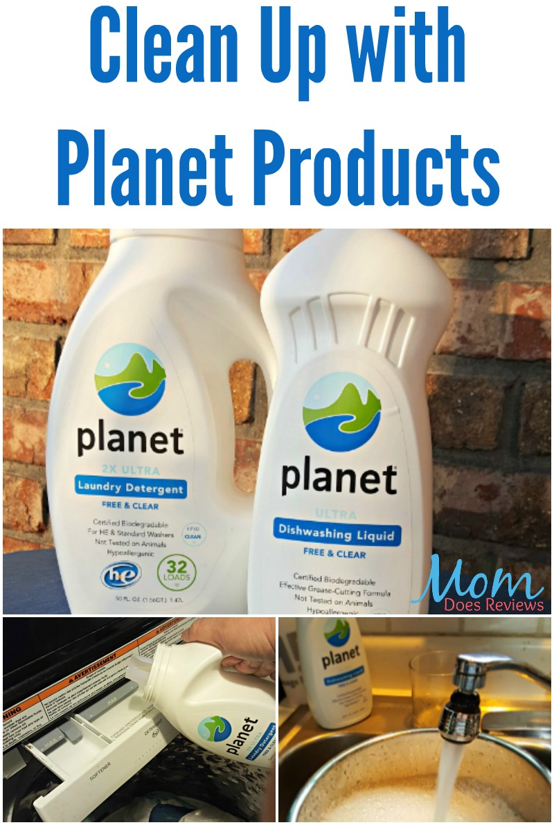Clean Up With Planet Products