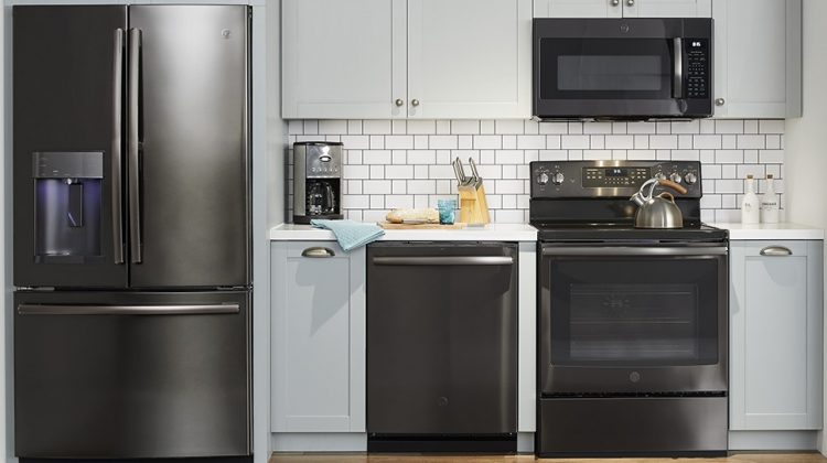 GE Black Stainless Finish- Our Finish Choice for our Kitchen Remodel at #BestBuy