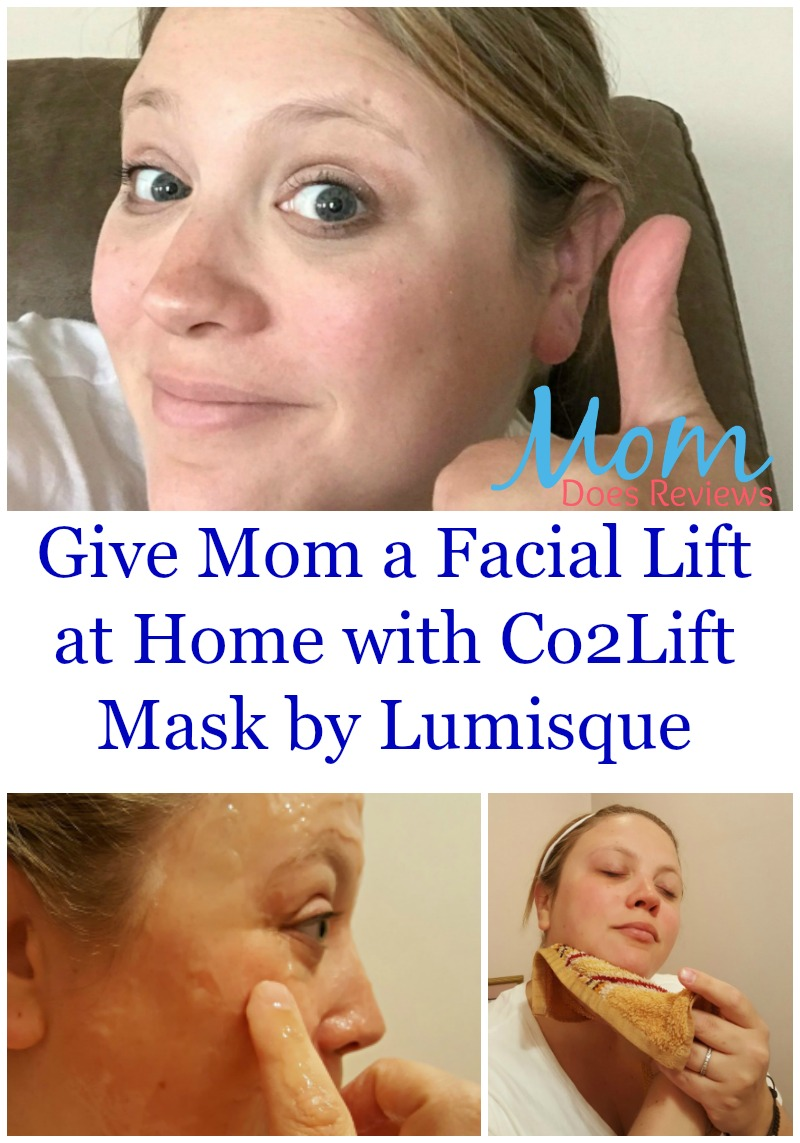 Give Mom a Facial Lift at Home with Co2Lift Mask by Lumisque