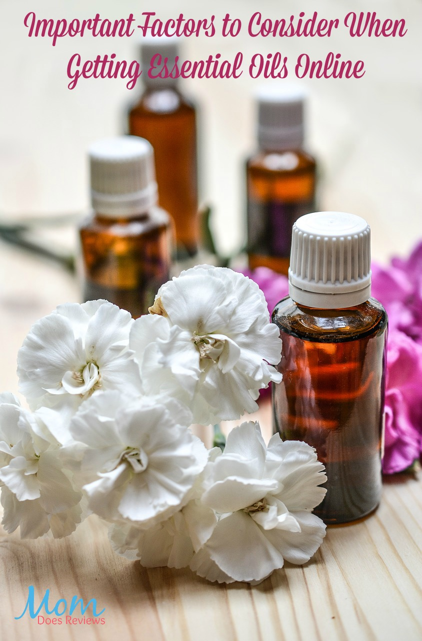 Important Factors to Consider When Getting Essential Oils Online