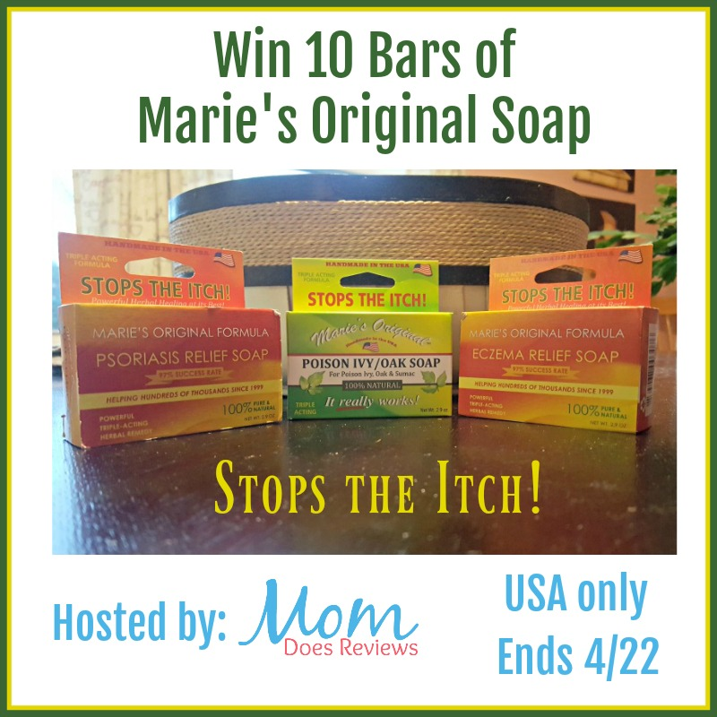 Marie's Original Soap Giveaway