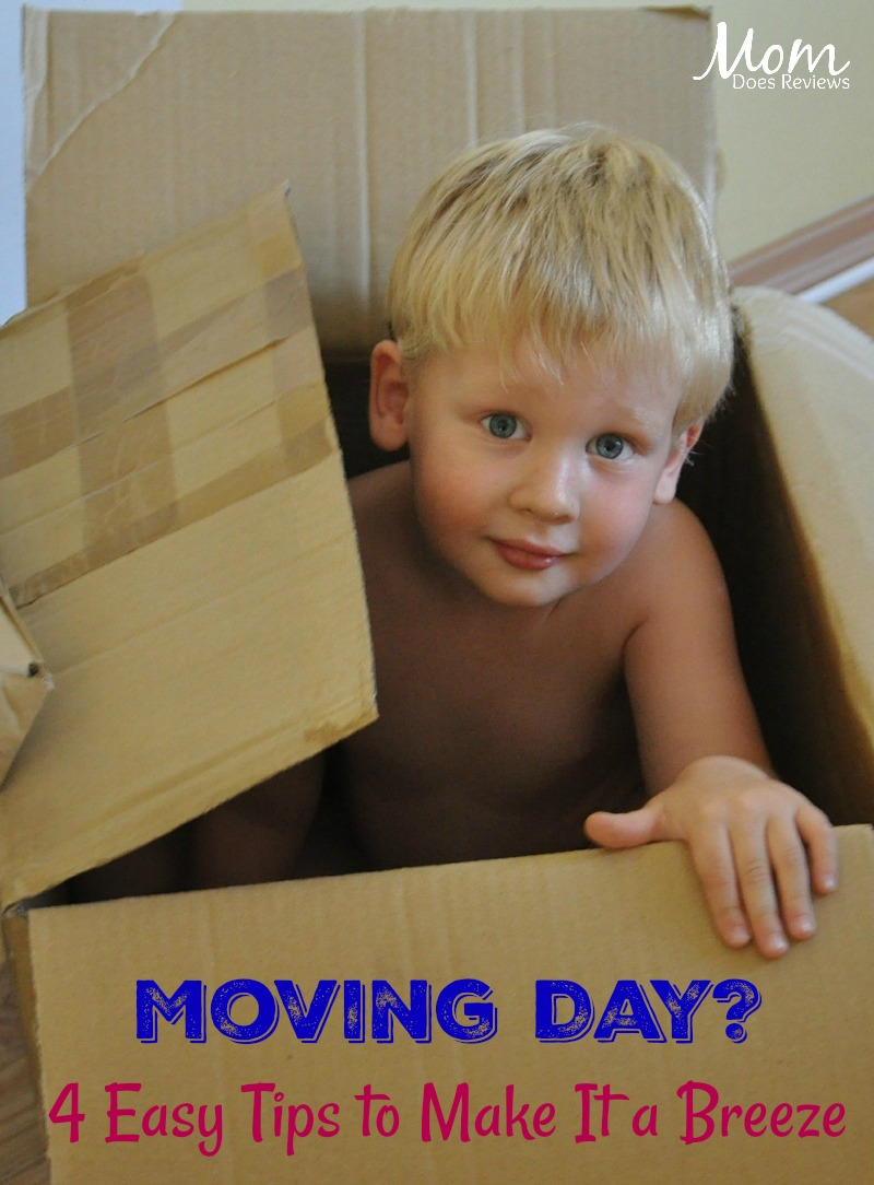 Moving Day? 4 Easy Tips to Make It a Breeze