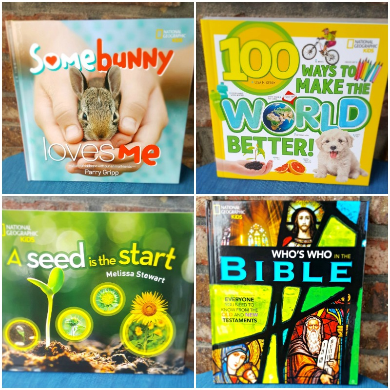 Encourage Learning with National Geographic Kids Books