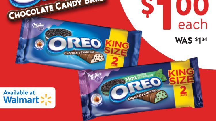Get OREO Chocolate King Size Candy Bars for $1 at #Walmart #OREOChocolate #KingSizeRollBack #IC