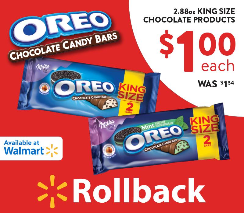 OREO Chocolate King Size Candy Bars
