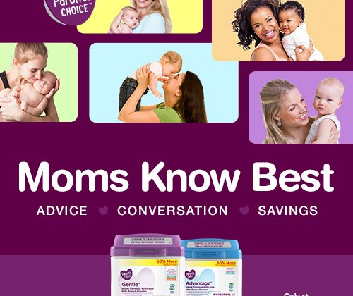 Try Parent's Choice™ Non-GMO Infant Formula at Walmart #MomsKnowBestWM