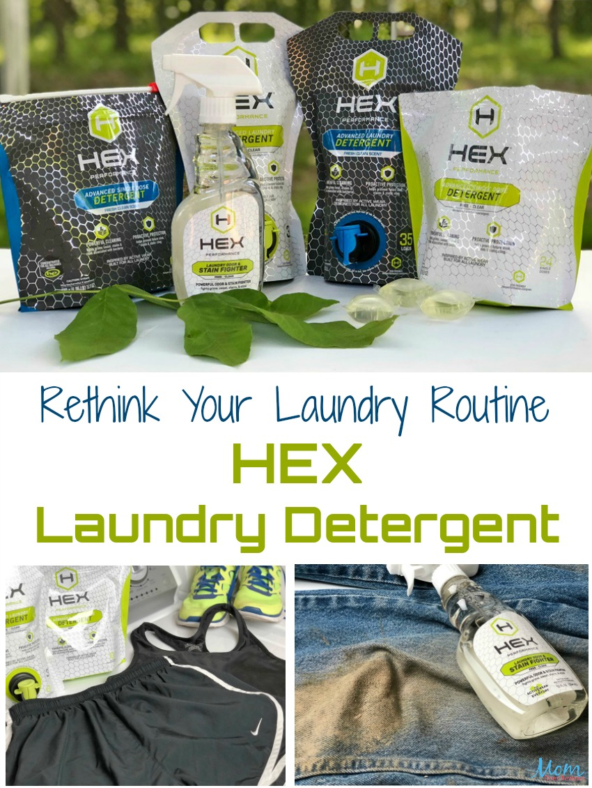 Rethink Your Laundry Routine with HEX Laundry Detergent