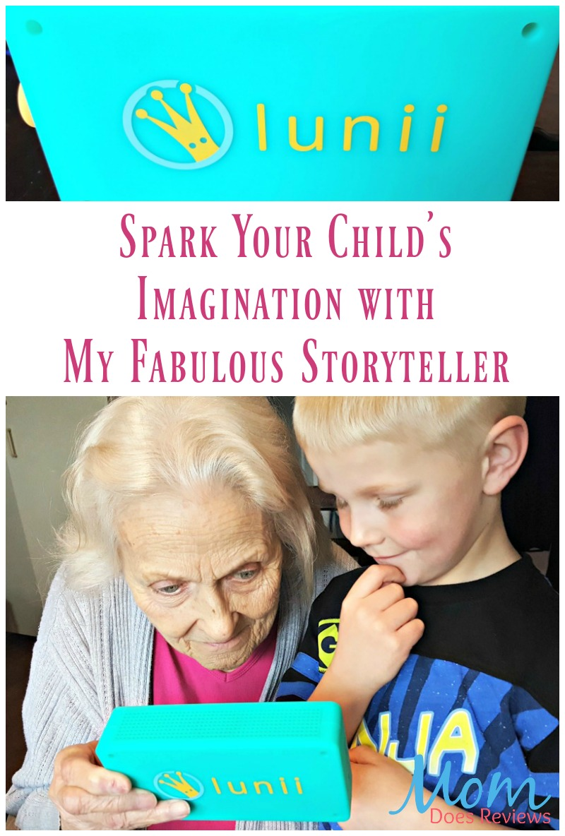 Spark Your Child's Imagination with My Fabulous Storyteller
