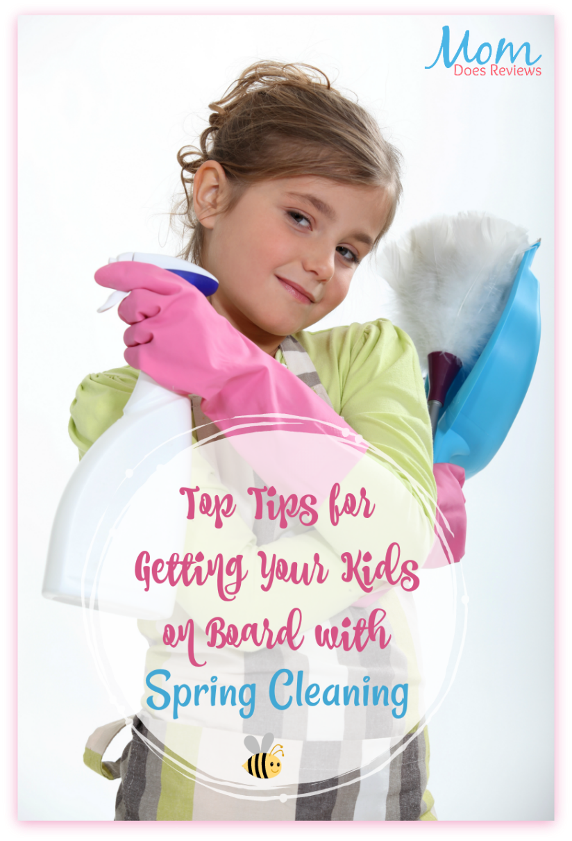 Top Tips for Getting Your Kids on Board with Spring Cleaning